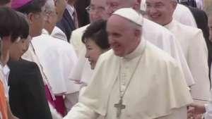 Coreia do Sul recebe Papa pela primeira vez em 25 anos Video:
