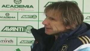 Gareca nega briga em vestiário e desejo de sair do Palmeiras Video: