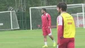 Kaká, Pato e Kardec treinam para clássico com Palmeiras Video: