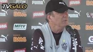 Levir Culpi projeta confronto com Figueirense e elogia Jô Video: