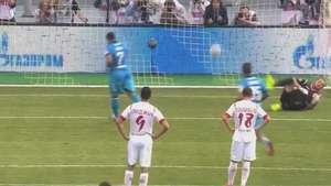 Com gol de Hulk, Zenit vence UFA e dispara na liderança Video: