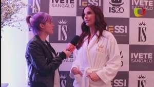 Ivete Sangalo comemora seu melhor show: