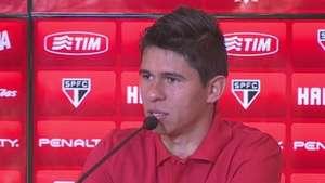São Paulo: Osvaldo defende força máxima na Sul-americana Video: