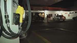 Trio amarra vigia em assalto a posto de combustíveis na BR 277 Video: