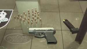Pistola 380 e munições são apreendidas no Universitário Video:
