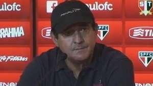 Muricy sobre jogo na Arena Corinthians: