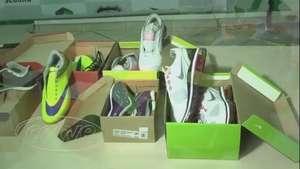 GDE apreende pares de tênis falsificados em lojas de Cascavel Video: