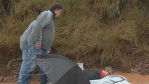 Homens são baleados e um morre próximo a PEP II em Piraquara Video: