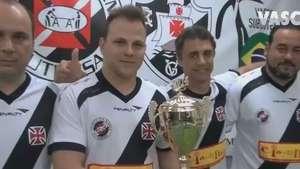 Futebol de botão do Vasco é campeão mundial na Hungria Video: