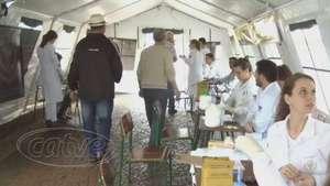 Exames de saúde são realizados no calçadão de Cascavel Video: