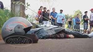 Motociclista morre em acidente no Turisparque Video: