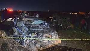 Motorista de Logus morre ao bater de frente com caminhonete na PR 581 Video: