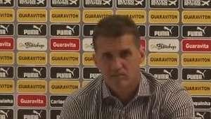 Copa do Brasil: Mancini minimiza derrota e foca o Santos Video: