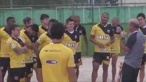 Vasco treina no CFZ visando confronto com Bragantino Video: