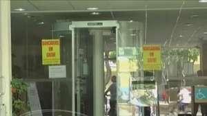 Bancários de Cascavel aderem à greve Video:
