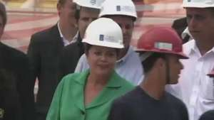 Acompanhe visita de Dilma às obras das Olimpíadas no Rio Video: