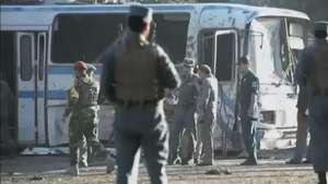 Ataques deixam sete mortos em Cabul Video: