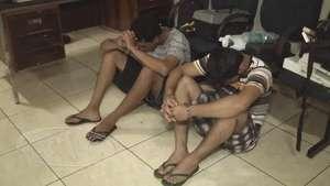 Jovens são presos com quase dois quilos de crack Video: