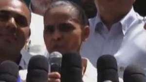 Marina Silva rebate críticas e aposta em discurso mais duro Video: