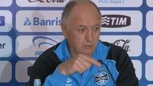 Expulso, Felipão achincalha árbitro de Grêmio x São Paulo Video: