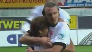 Veja os gols de Paderborn 3 x 1 E. Frankfurt  pelo Alemão Video:
