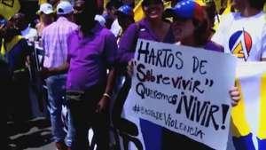 Oposição venezuelana volta às ruas pedindo mudanças Video: