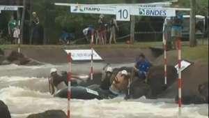Brasil domina o Rafting Mundial em Foz do Iguaçu Video: