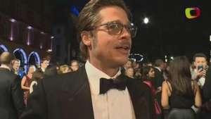 Brad Pitt e Logan Lerman falam sobre 'Corações de Ferro'; veja trechos Video: