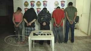 Cinco jovens foram detidos por cometer assaltos com pistola falsa Video: