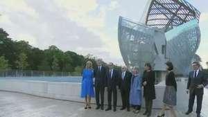 Louis Vuitton inaugura fundação para exposições em Paris Video: