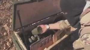 EI encontra suprimentos destinados às tropas curdas Video: