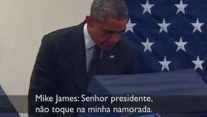 Obama enfrenta saia justa com namorado ciumento Video: