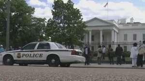 Homem é preso depois de invadir a Casa Branca, nos EUA Video: