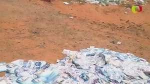 SP: material de campanha eleitoral é abandonado em Marília Video: