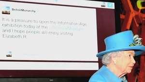 Moderninha! Rainha Elizabeth ll estreia conta no Twitter Video: