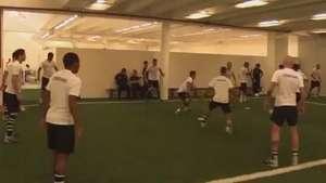 Veja os bastidores do Corinthians no jogo contra o Palmeiras Video:
