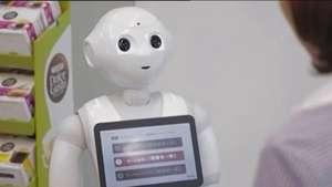 Robôs viram atendentes nas lojas japonesas da Nestlé Video: