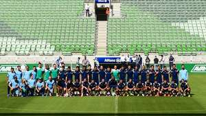 Elenco do Palmeiras conhece o Allianz Parque e se encanta Video: