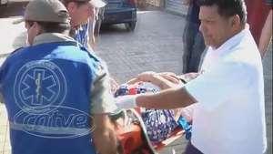 Idosa de 77 anos fica ferida durante assalto no Alto Alegre Video: