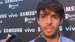 Kaká brinca com viagem para Equador: