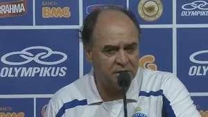 Copa do Brasil: Marcelo Oliveira projeta jogo de volta em Santos Video: