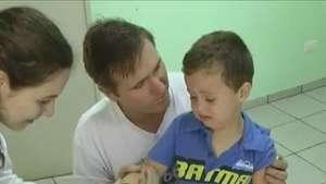 Dia D da campanha de vacinação, meta em Cascavel é de 42.600 crianças Video: