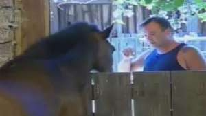 O peso da roça: Felipeh Campos chora e desabafa com cavalos Video: