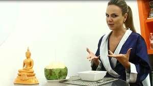 Dicas da Eliana: nos bastidores do programa ela ensina uma receita de cuscuz light Video: