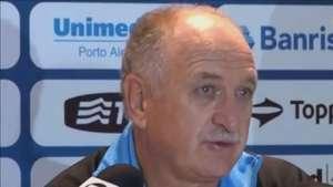 Grêmio: Felipão justifica derrota e vê mérito de adversário Video: