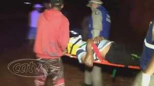 Homem é esfaqueado após brigar em bar de São João do Oeste Video: