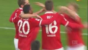 Veja os gols de Mainz 2 x 2 Freiburg pelo Alemão Video: