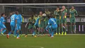 Hulk marca golaço e Zenit vence Kuban no Russo; veja lances Video: