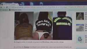 Polícias Civil e Militar investigam imagens de nudez e sexo no Paraná Video:
