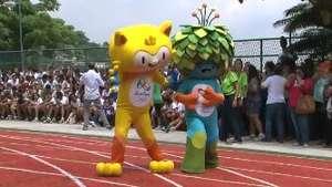 Com apelidos, mascotes do Rio 2016 são apresentados Video: